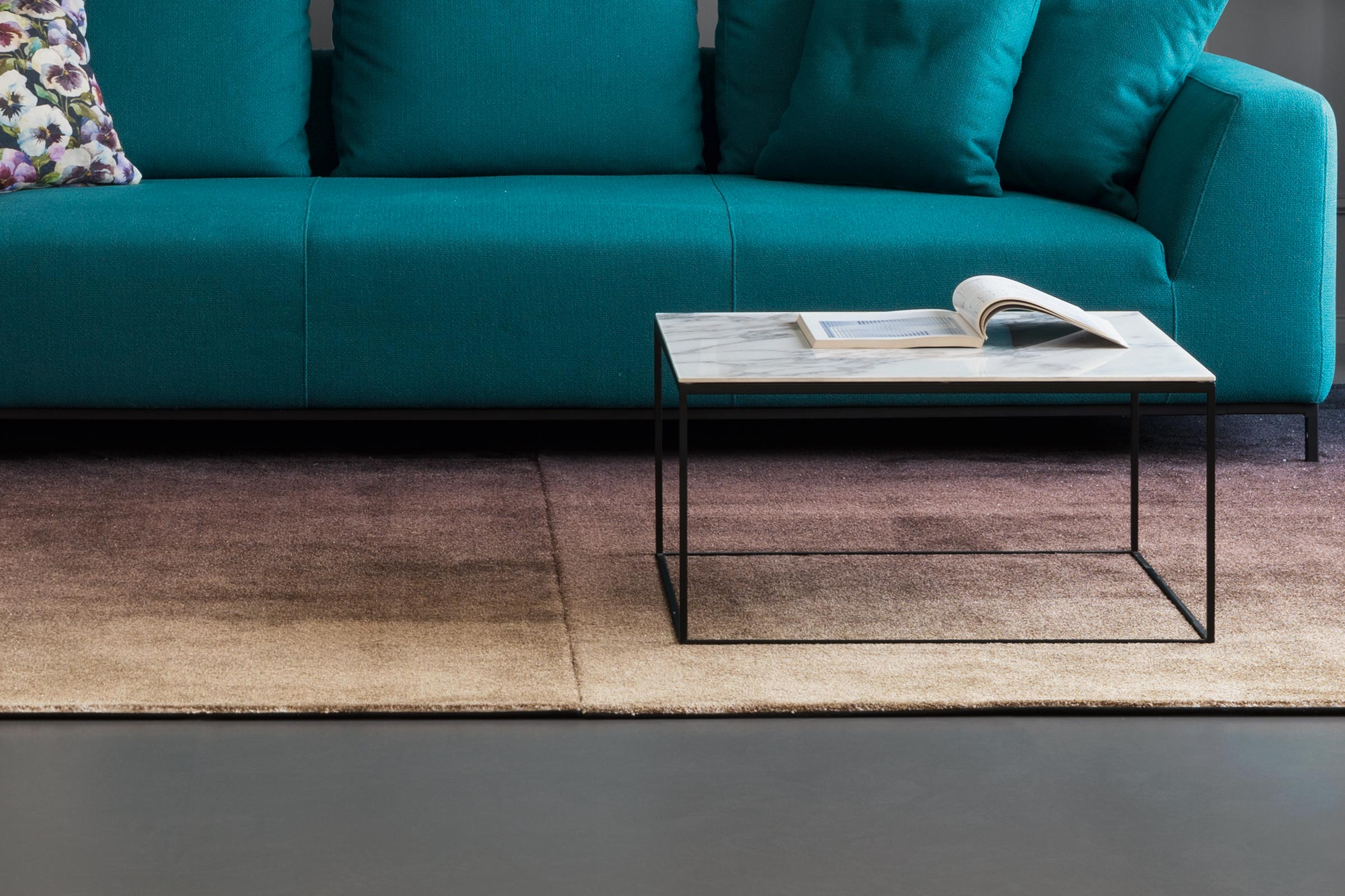 Thin Industrial Style Coffee Table Calligaris Toronto