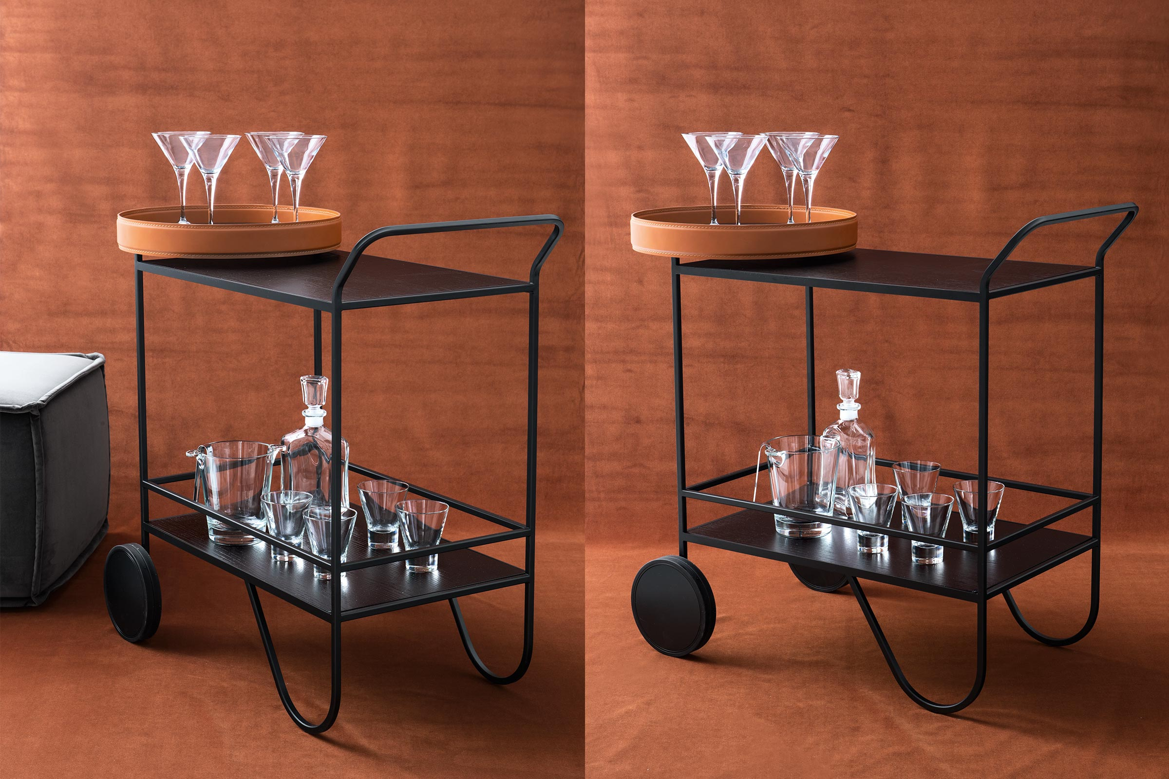 Giro Serving Trolley Bar Cart Calligaris Toronto Vaughan