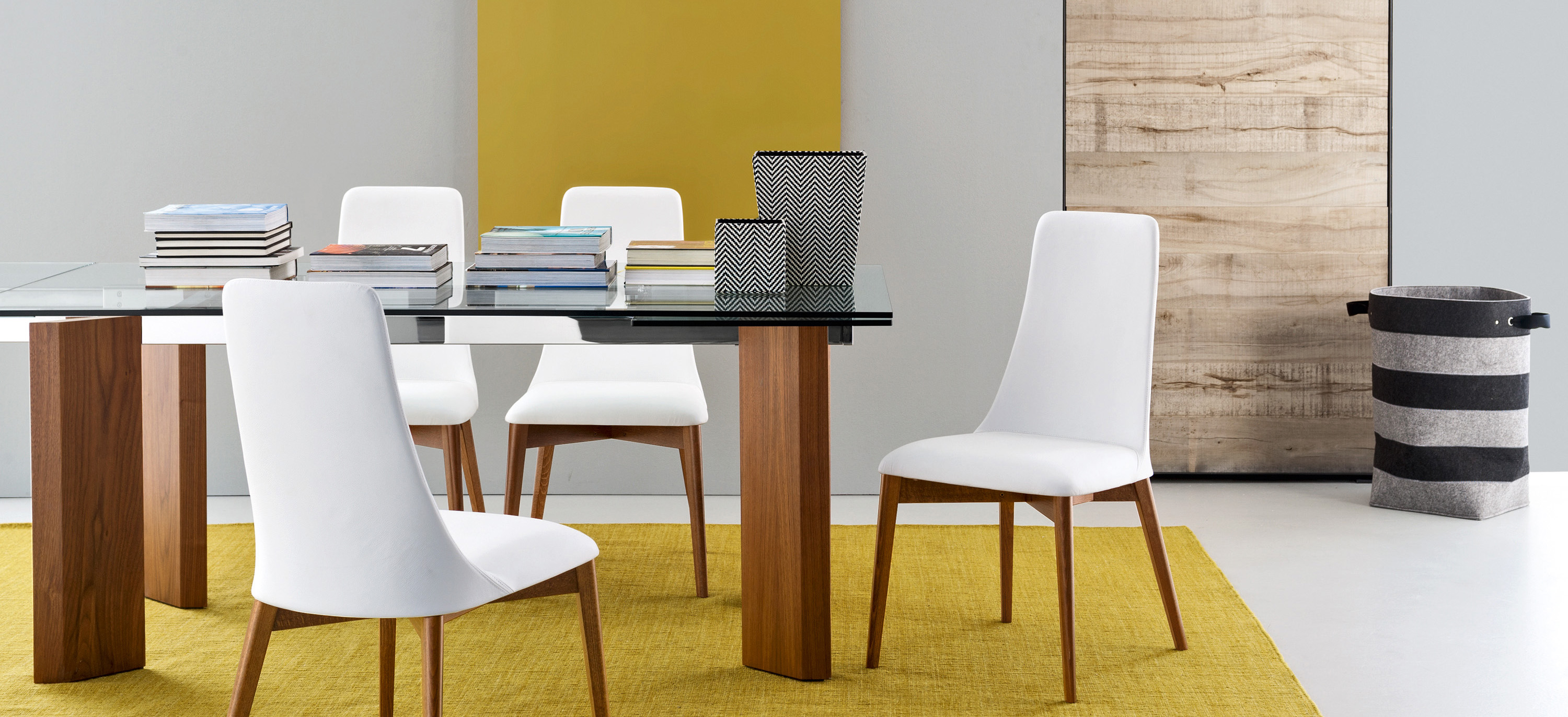 Calligaris Tower Modern Extendable Glass Dining Table  : cs4057 rlp201cs1423 lh7144 from calligaristoronto.ca size 3000 x 1373 jpeg 964kB