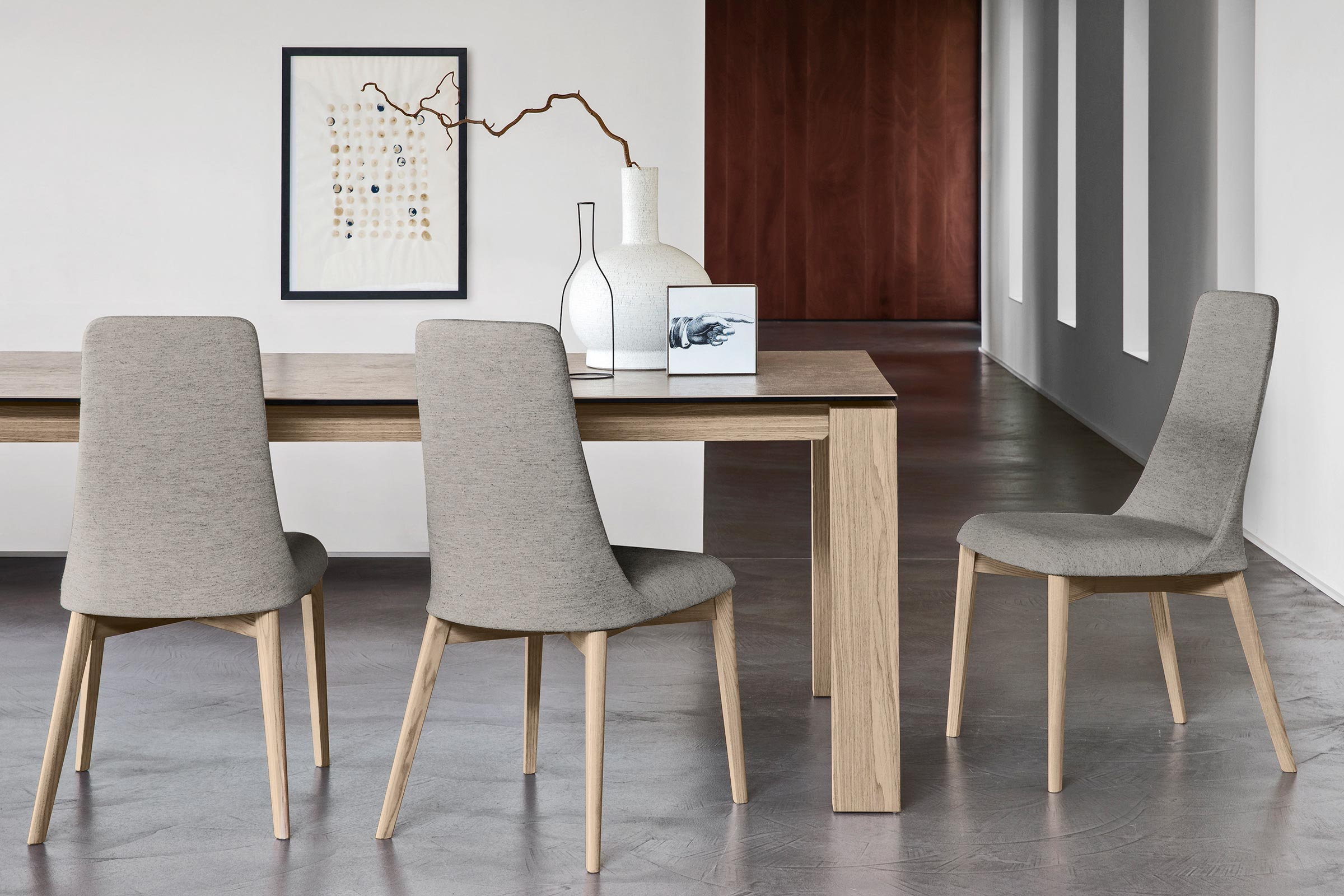 Calligaris Omnia Extendable Contemporary Dining Table Large Seats 8 10 Semi Automatic Telescopic Extension System Cs4058 R 180 Calligaris Toronto