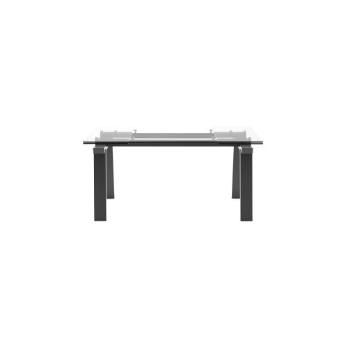 Levante: Modern Trestle-Base Extendable Table