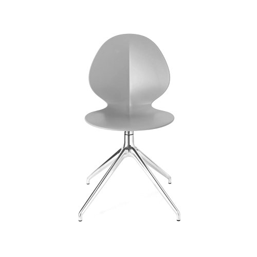 Basil: Ergonomic Plastic-Seat Chair