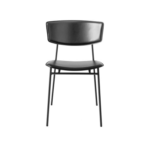 Fifties Leather: Retro-Style Chair