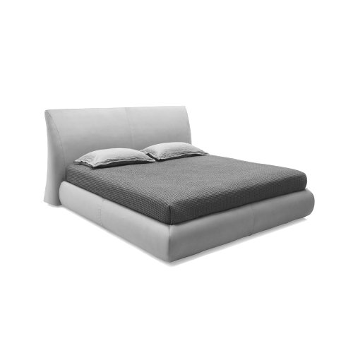 Michigan: Modern Fully-Upholstered Bed
