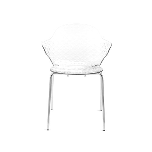 Saint Tropez: Ergonomic-Polycarbonate-Seat Chair