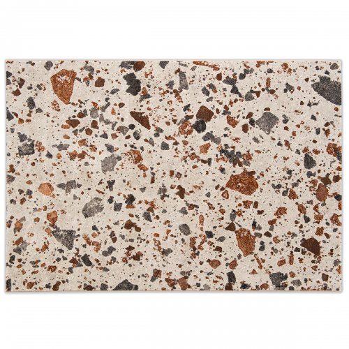 TERRAZZO Rug Polypropylene/polyester BEIGE/BROWN/GREY/BRICK RED