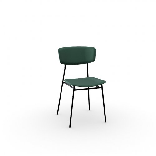 FIFTIES Frame P1L met. BLACK NICKEL  Seat S0H Venice FOREST GREEN