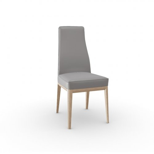 MARGOT Frame P27 ash. NATURAL  Seat D04 soft leather TAUPE