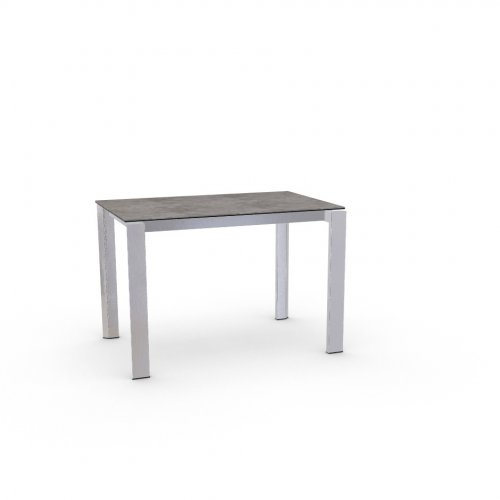 DUCA Top P1C ceramic (g) CEMENT  Frame P74 met. POLISHED ALUMINIUM  Legs P77 met. CHROMED
