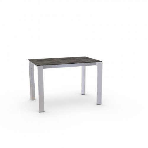 DUCA Top P321 ceramic (g) LEAD GREY  Frame P74 met. POLISHED ALUMINIUM  Legs P77 met. CHROMED