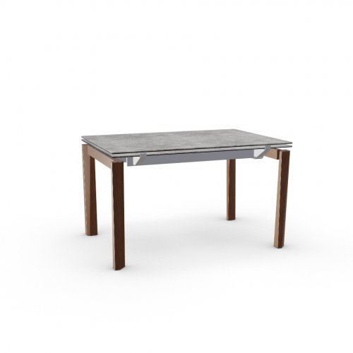 ESTESO WOOD Top P1C ceramic (g) CEMENT  Frame P176 met. MATT TAUPE  Legs P201 ash. WALNUT
