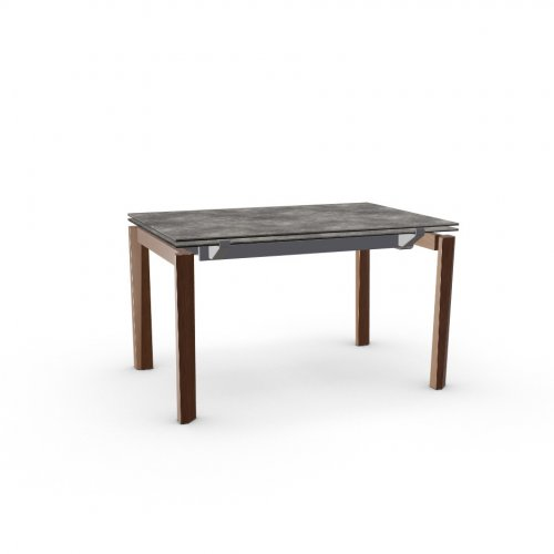 ESTESO WOOD Top P321 ceramic (g) LEAD GREY  Frame P16 met. MATT GREY  Legs P201 ash. WALNUT