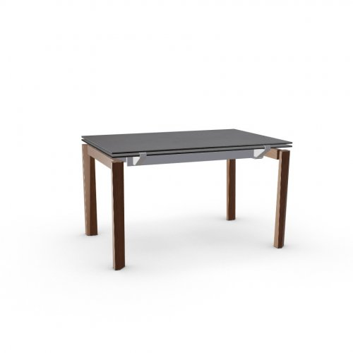 ESTESO WOOD Top P6C ceramic (g) BLACK OXIDE  Frame P176 met. MATT TAUPE  Legs P201 ash. WALNUT