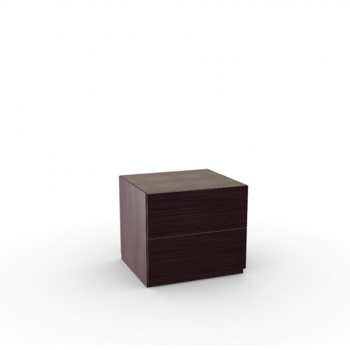 CITY Frame P128 ash ven. WENGE  Drawers P128 ash ven. WENGE  Top P166 ceramic NOUGAT
