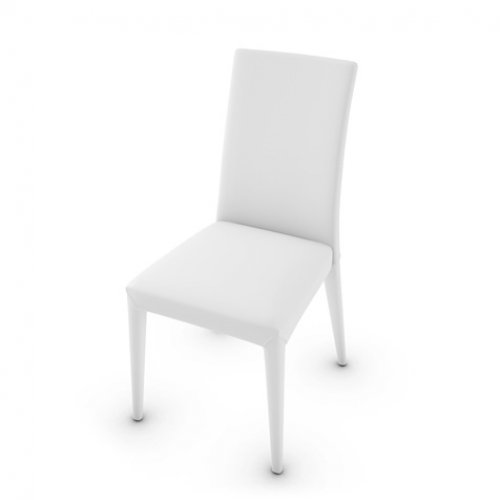 CS1266-LH ANAÏS Frame 705 bch. soft leather OPTIC WHITE Seat 705 soft leather OPTIC WHITE