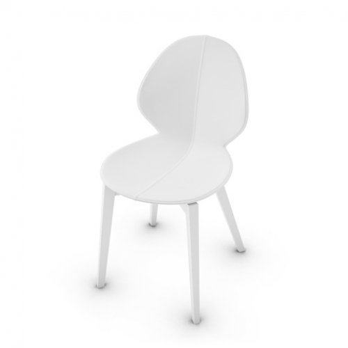 CS1348-LHS BASIL Frame P94 bch. MATT OPTIC WHITE Seat 474 regen.lth OPTIC WHITE
