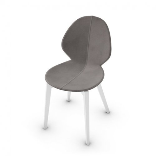 CS1348-LHS BASIL Frame P94 bch. MATT OPTIC WHITE Seat D03 regen.lth TAUPE