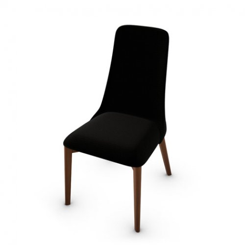 CS1423 ETOILE Frame P201 bch. WALNUT Seat A08 Denver ANTHRACITE