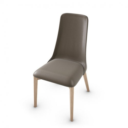 CS1423-LH ETOILE Frame P27 ash. NATURAL Seat D04 soft leather TAUPE