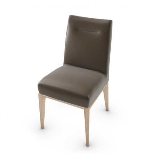 CS1490-LH TOSCA Frame P27 ash. NATURAL Seat 470 soft leather COFFEE