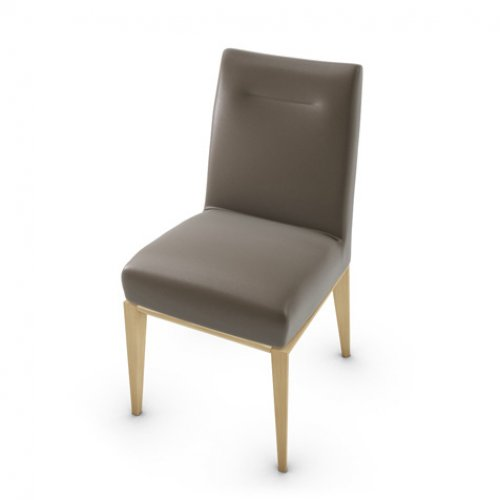 CS1490-LH TOSCA Frame P19W ash. NATURAL OAK Seat D04 soft leather TAUPE