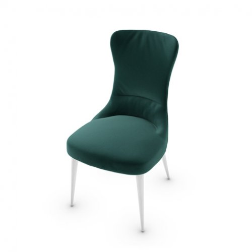CS1850 ROSEMARY Frame P507 ash. BRUSHED OPTIC WHITE Seat S0H Venice FOREST GREEN
