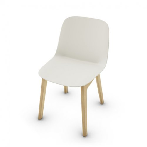 CS2010 VELA Frame P19W ash. NATURAL OAK Seat P151 pp MATT HEMP