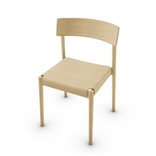 CS2027 SCANDIA Frame P19W ash. NATURAL OAK Seat P19W NATURAL OAK