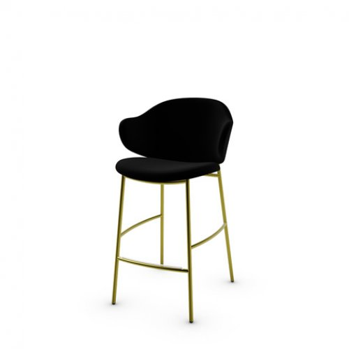CS2038 HOLLY Frame P33L met. PAINTED BRASS Seat S0Y Venice BLACK