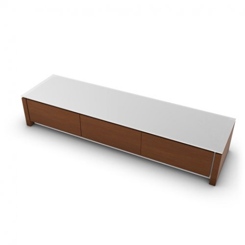 CS6029-3R MAG Internal frame P262 mel. WHITE Door P201 wlnt ven. WALNUT Top GEW temp.glass FROSTED EXTRACLEAR