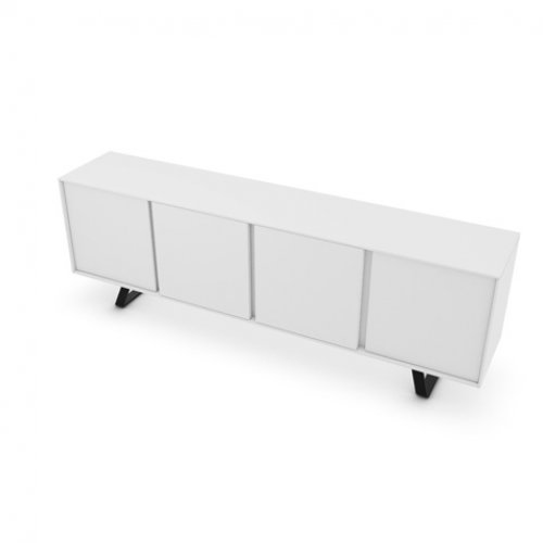 CS6053-3 SECRET Frame P94 lacq. MATT OPTIC WHITE Door P94 lacq. MATT OPTIC WHITE Base P16 met. MATT GREY