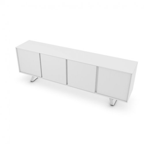 CS6053-3 SECRET Frame P94 lacq. MATT OPTIC WHITE Door P94 lacq. MATT OPTIC WHITE Base P94 met. MATT OPTIC WHITE