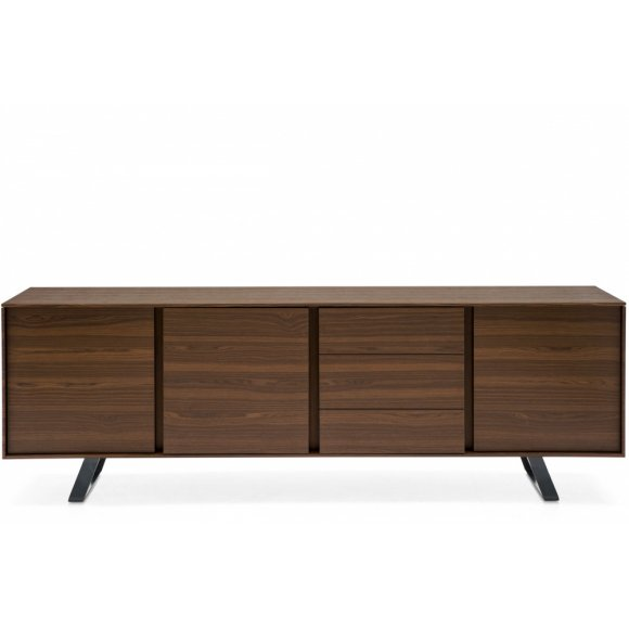 Secret (4): Minimalist 3 Compartment Sideboard with 3 Drawers