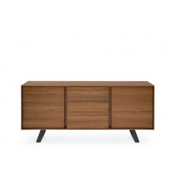 Secret (2): Minimalist 2 Compartment Sideboard with 3 Drawers