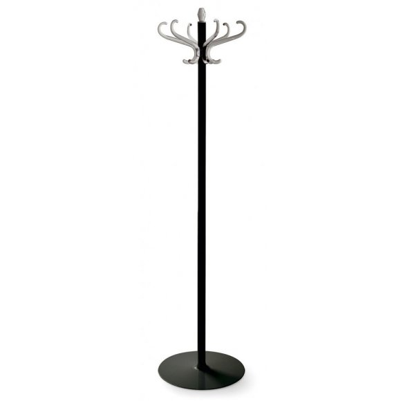 Medusa: 6-Hook Free-Standing Coat Rack