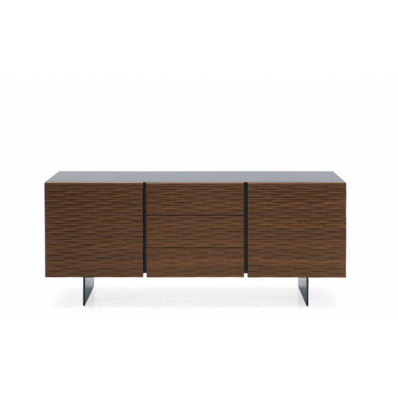 Opera (2): Embossed 2 Compartment Sideboard with 3 Drawers